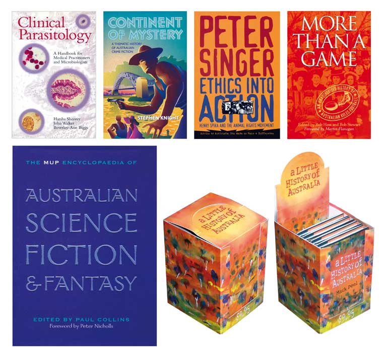 Book Design - Academic MUP covers