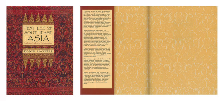Book Design - Academic Textiles